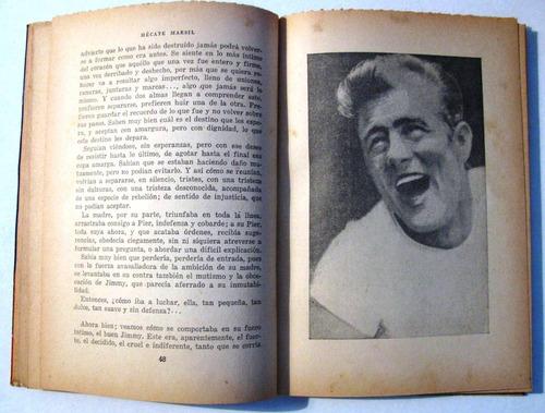 james dean su vida y su pasion col. artistas unidos año 1957