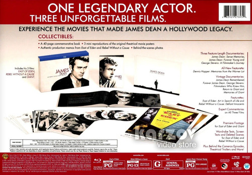 james dean ultimate collector s edition collectibles blu-ray