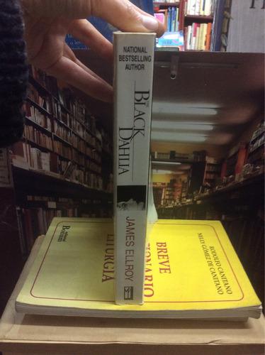 james ellroy. the black dahlia. novela. inglés