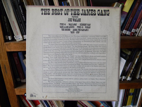 james gang, the best of - lp importado