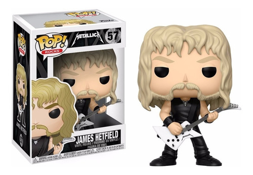 james hetfield funko pop metallica rock trash metal