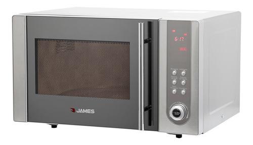 james - horno microondas j23b mdgi - frente inox. bigsale