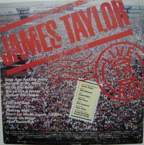 james taylor - live in rio