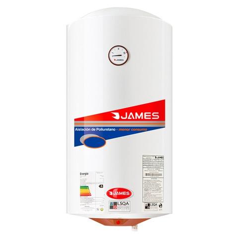 james - termotanque 110 lts - cobre - cilindrico bigsale