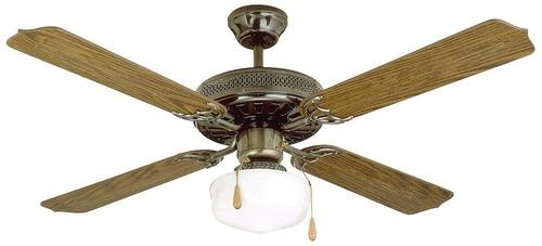 james - ventilador de techo 1 luz vt4 bronce bigsale