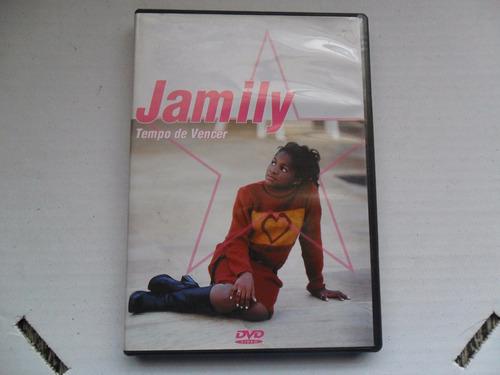 jamily - tempo de vencer dvd + 2 cds