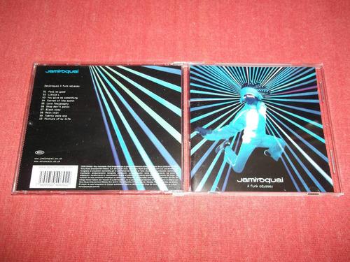 jamiroquai - a funk odyssey cd nac ed 2001 mdisk