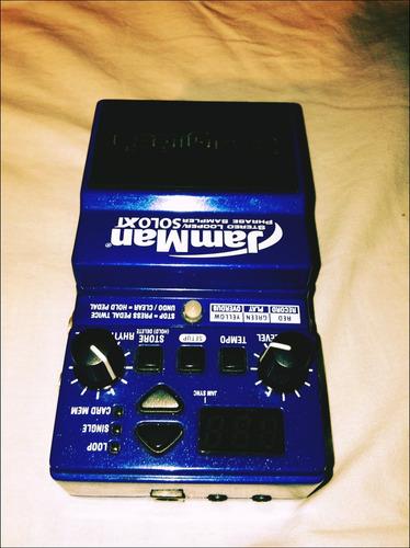 jamman stereo looper - phrase sampler solo xt