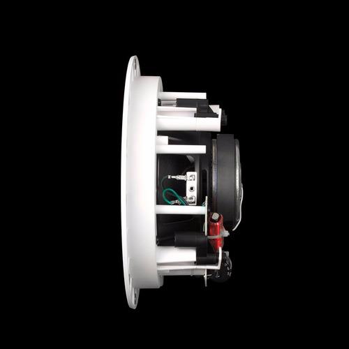 jamo 2-way in-ceiling speaker ic606fg white