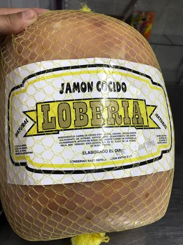 jamón cocido natural loberia