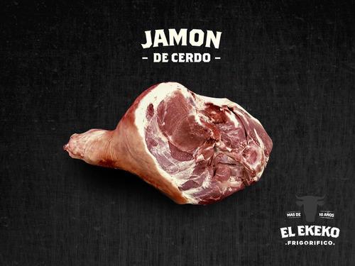 jamon / pernil de cerdo fresco x kg