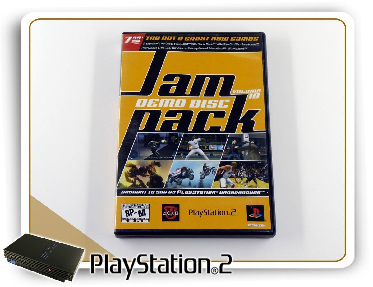 Jampack Demo Disc Volume 10 Original Playstation 2 Ps2