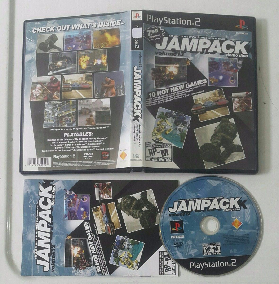 Jampack Vol 13 * Demo Disk / Playstation 2 Ps2 - $ 19 000
