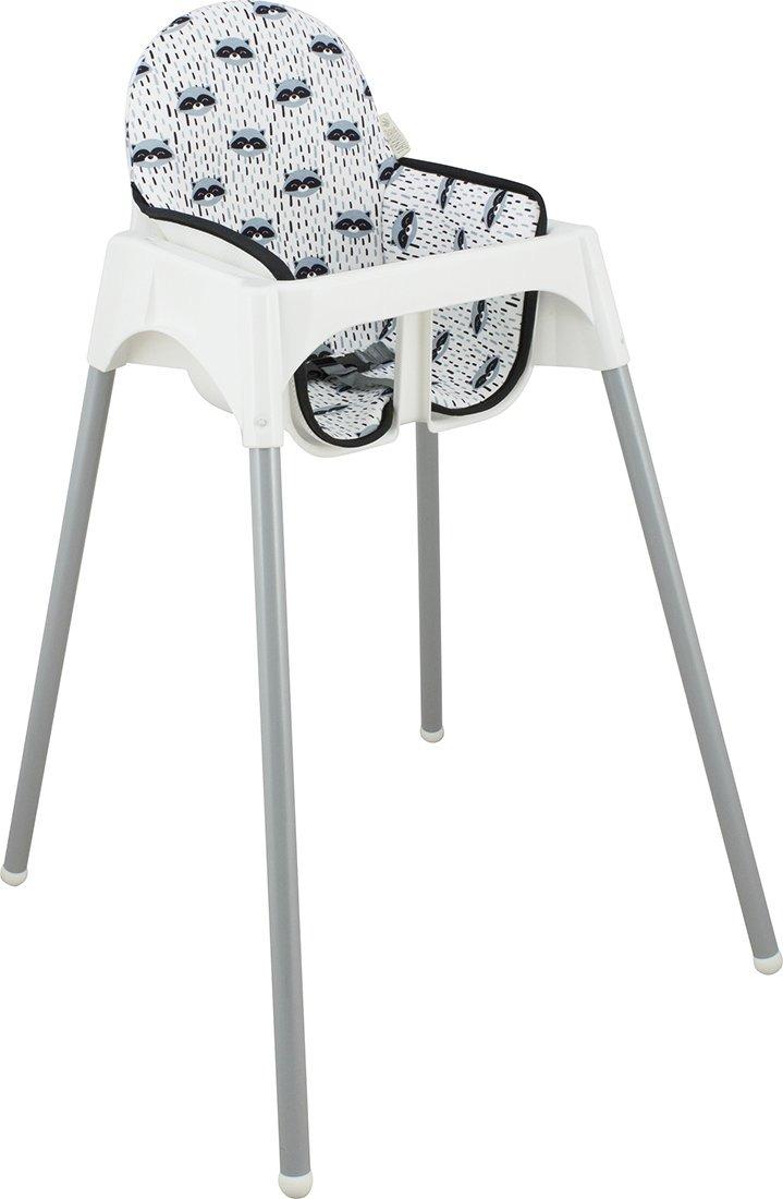 Ikea Antilop Para Alta Silla Janabeb Raccoon Cojín LA5j4R
