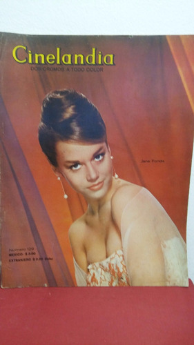 jane fonda revista cinelandia marzo 1964