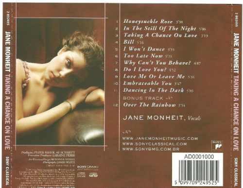 jane monheit taking a chance on love frete grátis