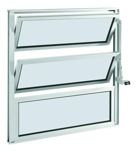 janela basculante alumínio 2 folhas sasazaki ec
