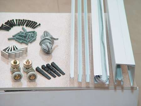 Janela blindex kit 1 00x1 00 4 folhas vidro 8mm verde r for Kit de persianas