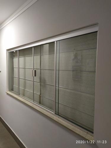 janela de vidro de segurança temperado. 8mm incolor / fumê