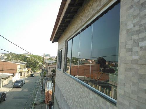 janela e porta de vidro sob medida