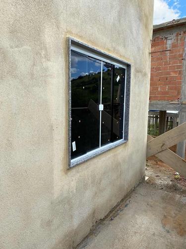 janelas fumê de 8mm 1,20x1,00 kit branco