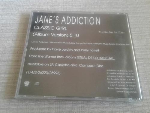jane's addiction - classic girl cd promocional usa