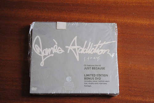 jane's addiction strays limited edition cd+dvd sistema pal