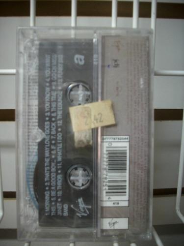 janet jackson - janet. cassette nuevo y sellado.