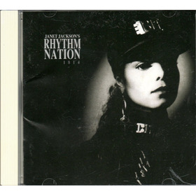 Janet Jackson-rhythm Nation-1814-1989-cd Imp.japão