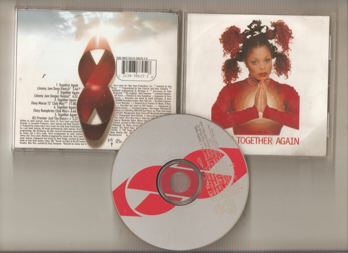 Janet Jackson - Together Again - Cd- Usa-maceo-disqueria