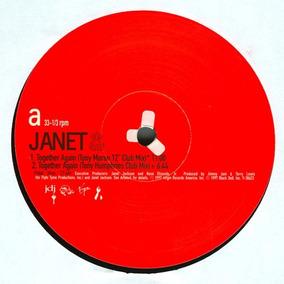 Janet Jackson Together Again 2x12 Dj Premier Remix - Vinil