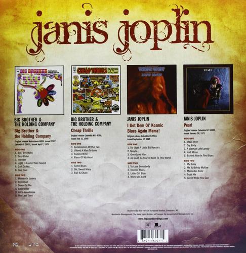 janis joplin - classic lp collection box set importado