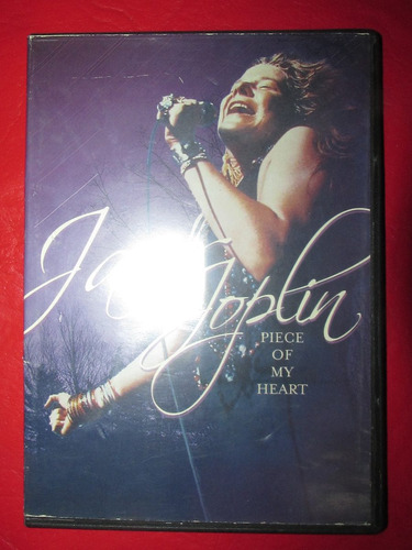 janis joplin piece of my heart dvd original excelente estado