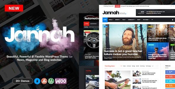 Jannah V1 1 1 Wordpress News Magazine Blog E Buddypress