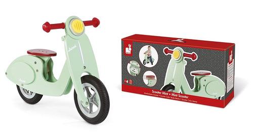 janod moto vespa bicicleta de equilibrio para niños