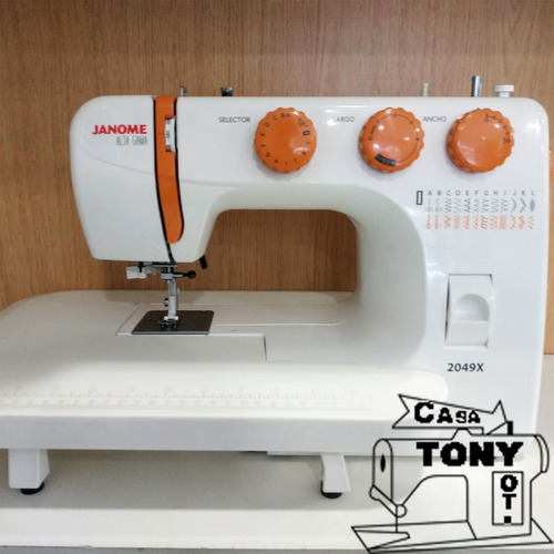 janome 2049x + kit patchwork y quilting + garantía
