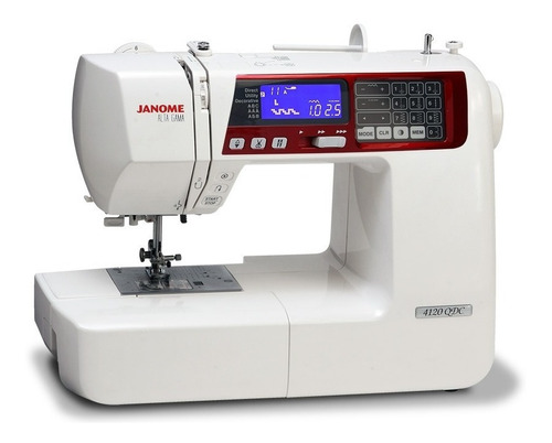 janome 4120qdc + patchwork y quilting + garantía