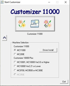 JANOME DIGITIZER 1000 DRIVER WINDOWS