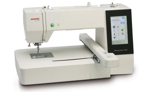 janome mc500e nueva bordadora computarizada area 28x20 usb