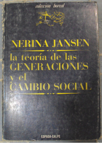 jansen - la teoria de las generaciones y el cambio social