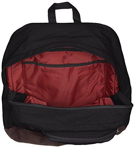 jansport houston mochila urban - negro - 17.7h x 12.8w x 5.