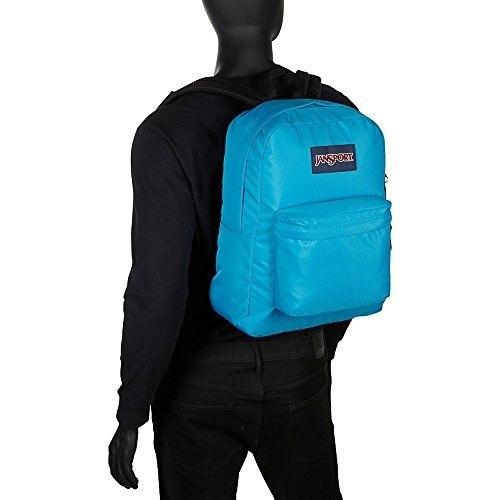 jansport superbreak backpack- colores de venta (rainbow tie