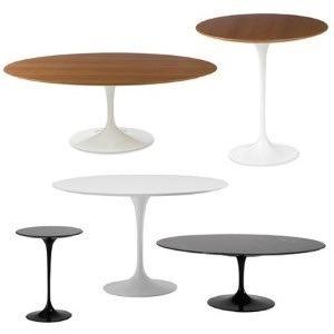 jantar oval mesa