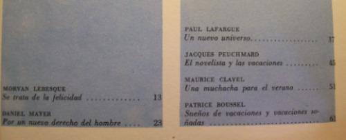 janus nº 7 la revolucion del tiempo libre ed. 1966