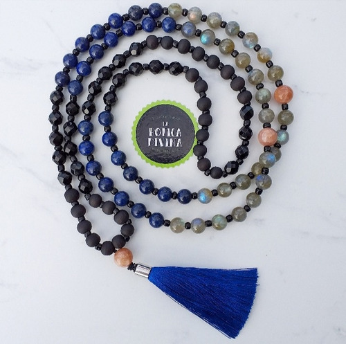 japa mala 108 cuentas rosario hindú la botica divina