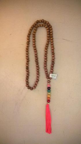 japa malas de 108 cuentas con los colores de los chakras