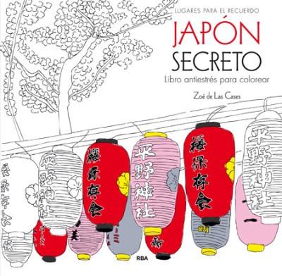 japon secreto (libro antiestres para colorear)(libro )