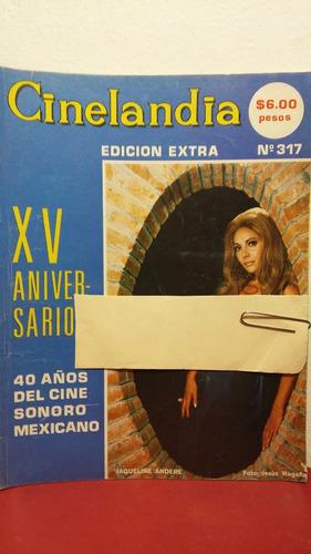jaqueline andere revista cinelandia nov 1971
