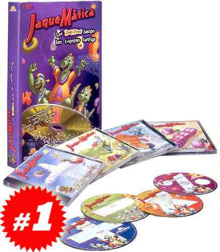 jaquemática 1 vol + 4 cd roms