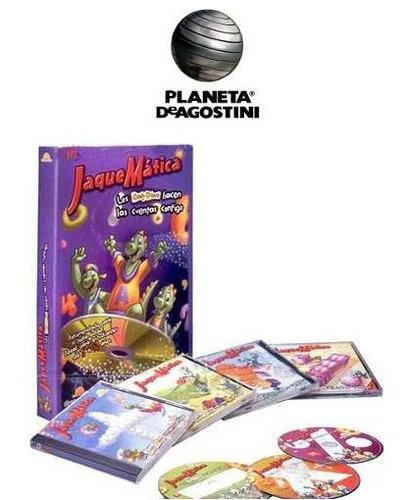 jaquematica 1 vol + 4 cd`s planeta